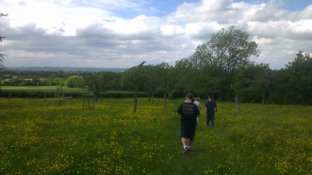Walk through the countryside on Friday